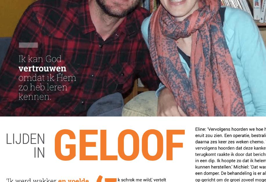 'Lijden in geloof' – interview kerstnummer NAV.Magazine